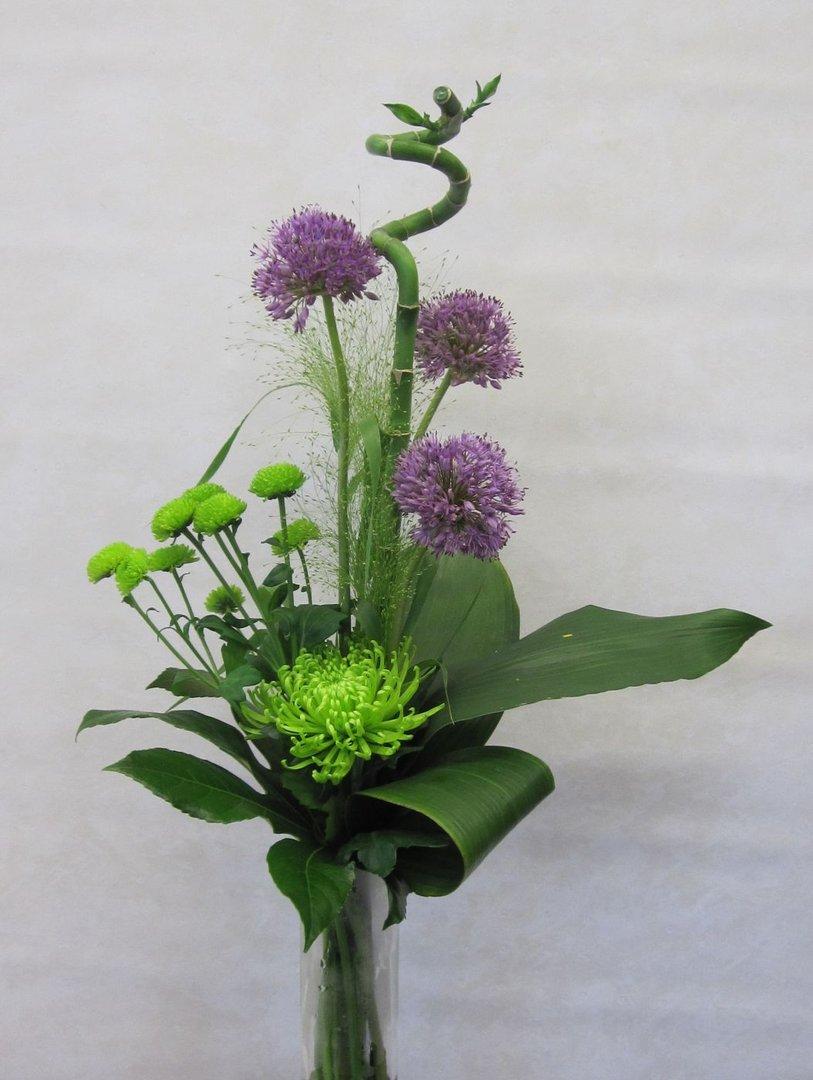 High Bouquet Of Allium